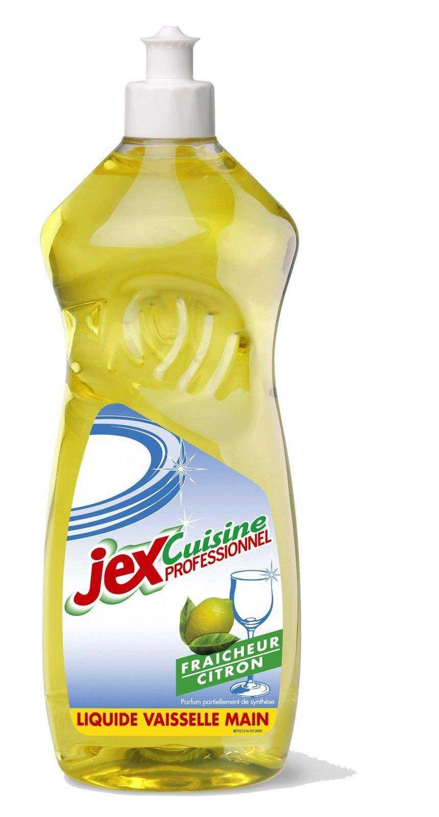Jex professionnel liquide vaisselle main le bidon de 1l for Produit de lustrage professionnel