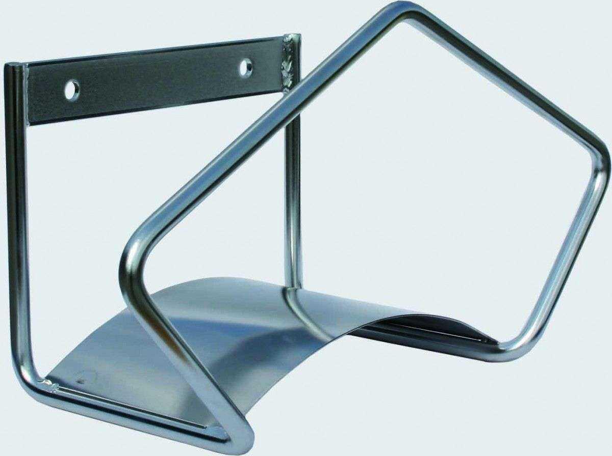 support de flexible mural inox poli. Black Bedroom Furniture Sets. Home Design Ideas