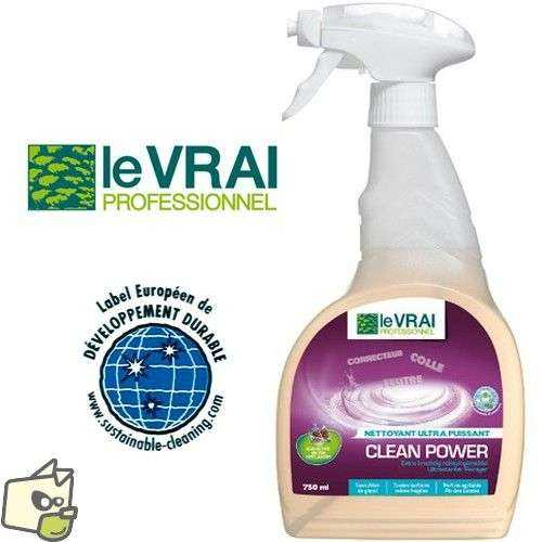 Clean Power - Detachant Ultra Puissant - 750 Ml Nettoyant multi-surfaces