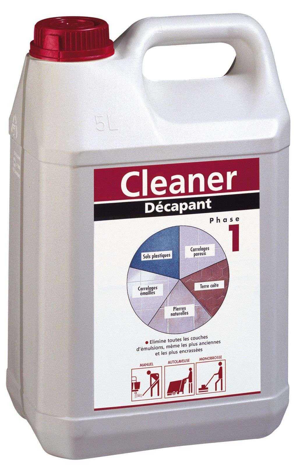 Cleaner decapant le bidon de 5 l - Nettoyage toilettes encrassees ...
