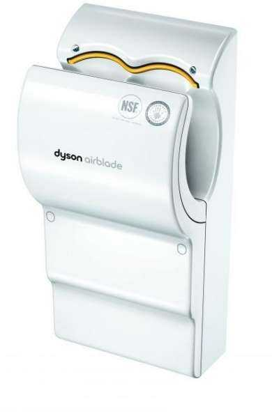 seche main dyson airblade ab05 blanc materiel nettoyage. Black Bedroom Furniture Sets. Home Design Ideas